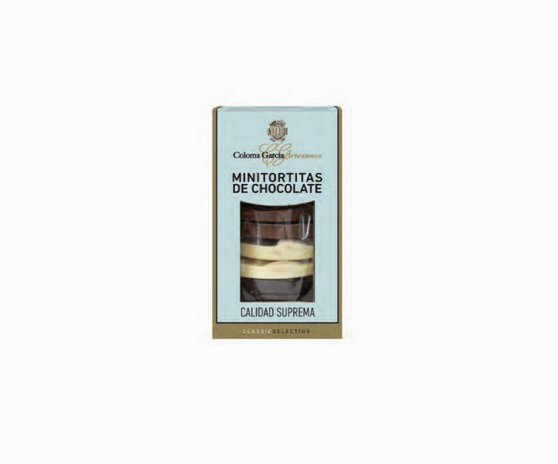 Minitortas de Chocolate Artesanales con 3 Chocolates