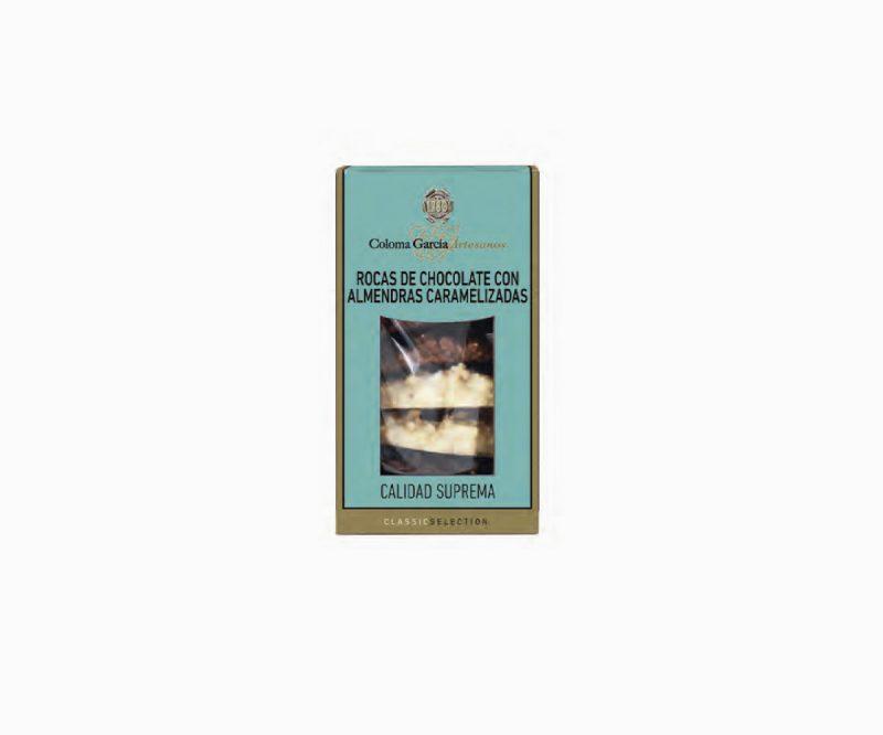 Rocas de Chocolate con Almendras Acarameladas