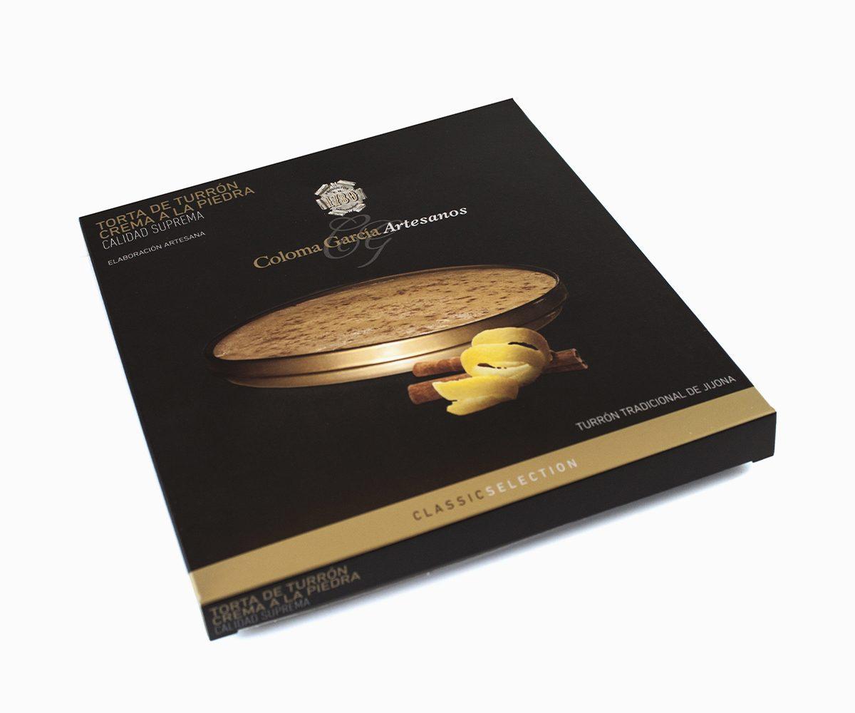 Torta Turrón de Crema a la Piedra Artesanal